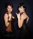 Hermanas gemelas del metal Fotografía de archivo libre de regalías