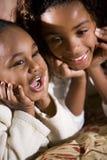 Hermanas y mejores amigos Fotos de archivo libres de regalías