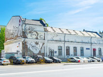 Hermann Hesse in Moskau stockbilder