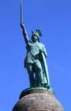 Hermann Monument i Tyskland Arkivbild