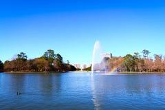 Hermann Park in Houston lizenzfreie stockfotografie