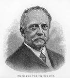Hermann von Helmholtz Stock Photography