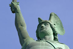 Hermannsdenkmal. The German freedom stature Royalty Free Stock Photography