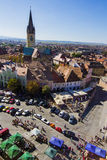 Hermannstadt aerial view Stock Image
