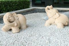 Hermano de piedra del elefante Fotografía de archivo libre de regalías