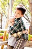 Hermano del abrazo Fotografía de archivo libre de regalías