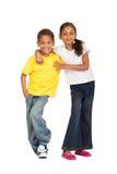 Hermano y hermana Imagen de archivo libre de regalías