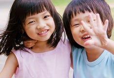 Hermano y hermana Foto de archivo libre de regalías