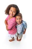 Hermano y hermana Imagenes de archivo