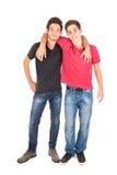 Hermanos adolescentes Foto de archivo