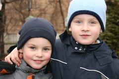 Hermanos - amigos Foto de archivo