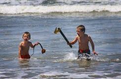 Hermanos del pirata del mar Fotografía de archivo libre de regalías