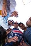 Hermanos en alcohol Fotografía de archivo libre de regalías
