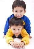 Hermanos gemelos Imagen de archivo libre de regalías
