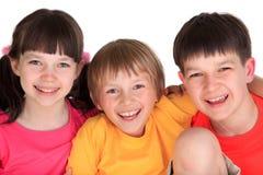 Hermanos jovenes y hermana Fotos de archivo libres de regalías