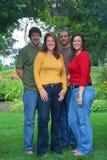 Hermanos y hermanas Foto de archivo libre de regalías