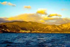 Hermanus, capetown. Hermanus, cape town, beautiful whale sighting bay, south africa Stock Photo