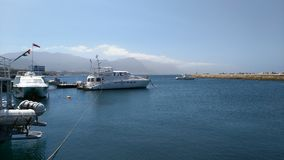 Hermanus. At the harbour Stock Image