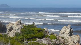 Hermanus, South Africa. walk the Cliff Path to Grotto Beach and enjoy the view. Hermanus, South Africa. walk the Cliff Path to Grotto Beach and enjoy the Stock Photos