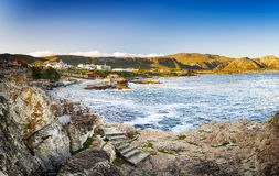 Hermanus South Africa. Whale watching town of Hermanus, South Africa royalty free stock photography