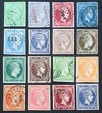 hermes γραμματόσημα Στοκ Εικόνες
