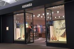 Hermes font des emplettes Photo libre de droits