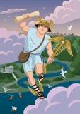 Hermes Vector Illustration