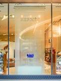 Hermes hace compras en Siam Paragon, Bangkok, Tailandia, el 9 de mayo de 2018 foto de archivo libre de regalías