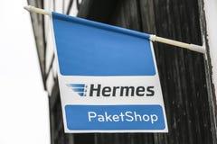 Hermes-Logo Stockbild