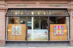 Hermes luxury brand royalty free stock photos