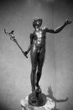 Hermes, mensageiro aos deuses do olímpico Imagem de Stock Royalty Free