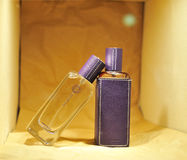 Hermes perfume collection Stock Photography