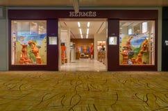 Hermes robi zakupy w lotnisku Obraz Stock