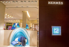 Hermes store in Las Vegas Stock Photography