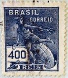 Hermes - un simbolo di commercio (Mercury romano del dio) Fotografia Stock Libera da Diritti