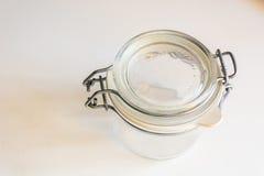 Hermetische glaskruik Royalty-vrije Stock Foto