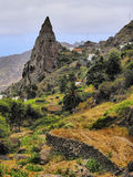 Hermigua on Gomera Royalty Free Stock Photos