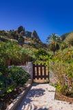 Hermigua valley in La Gomera island - Canary Royalty Free Stock Photography