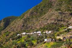Hermigua valley in La Gomera island - Canary Royalty Free Stock Image