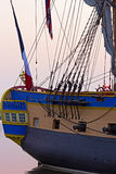 Hermione frigate close up in Alaxandria, Virginia. Royalty Free Stock Photos