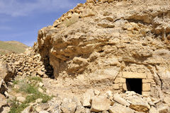 Hermit cell in Kidron valley, Israel. Stock Photo