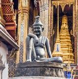 Hermit doctor on a pillar Royalty Free Stock Photos