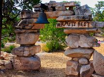 Hermit`s Rest on the South Rim Royalty Free Stock Images