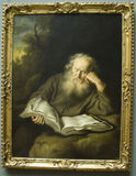 The Hermit by Salomon Koninck Royalty Free Stock Photo