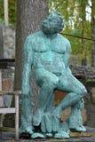The Hermit Sculpture in Millesgarden Stock Photos