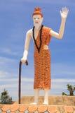 Hermit statue Stock Photos