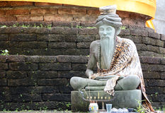 Hermit statue Royalty Free Stock Image