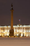The Hermitage and Alexander Column Stock Image