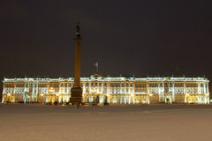 The Hermitage and Alexander Column Stock Photography