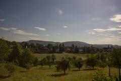 Hermitage in Arlesheim (Basel) Stock Images